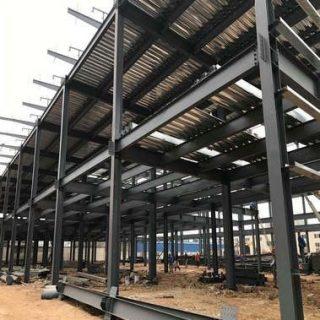 نصب سازه های فلزی در طراحی ساختمان