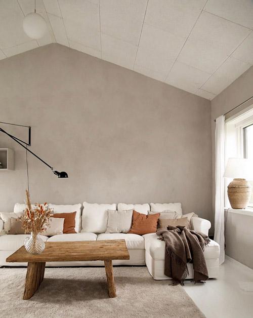 طراحی دکوراسیون داخلی بژ و خاکستری